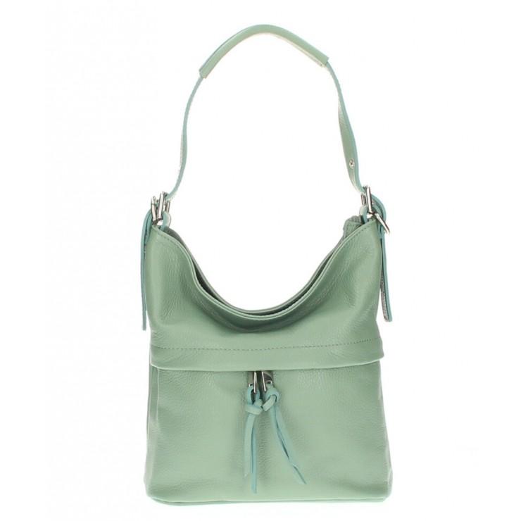 Leather Shoulder Bag 631 mint
