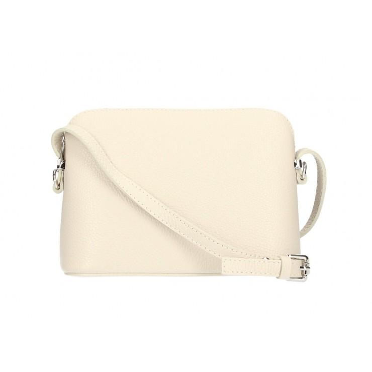 Genuine Leather Shoulder Bag 1310 beige