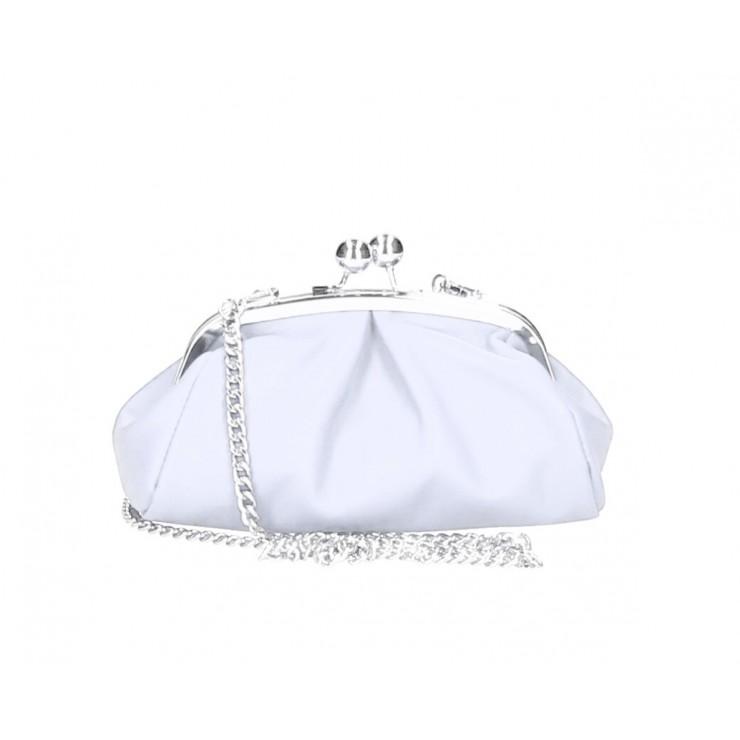 Kožená kabelka MI89 biela Made in Italy