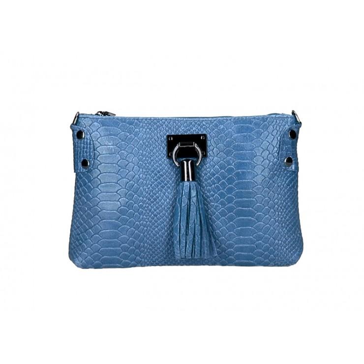Kožená kabelka MI42 jeans Made in Italy