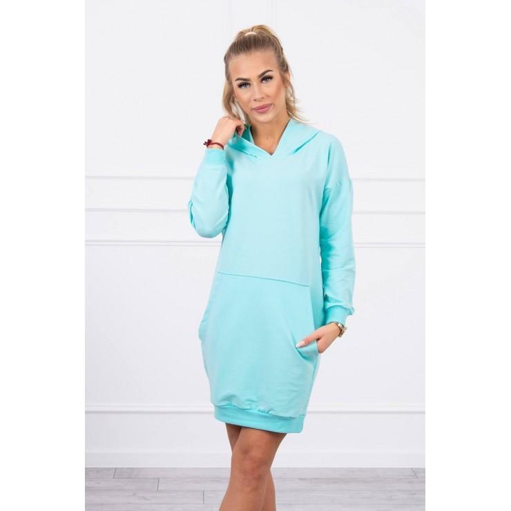 Dress with hood MI67292 mint