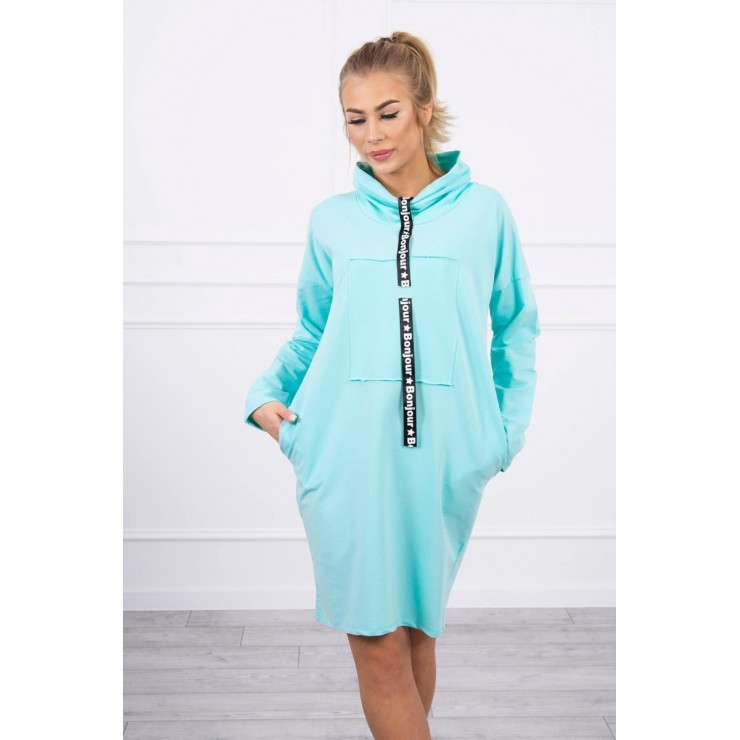 Dress with hood Bonjour MI0153 mint