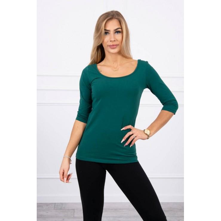 Women T-shirt MI8832 green