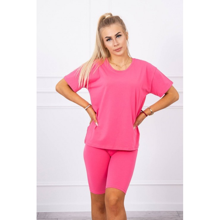 Set of tops and leggings MI9099 fuxia