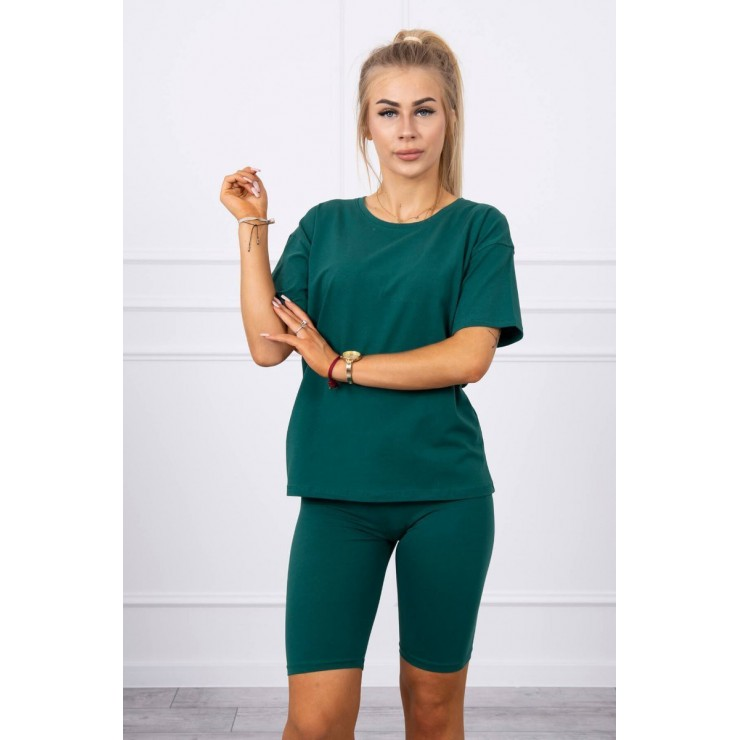 Set of tops and leggings MI9099 green