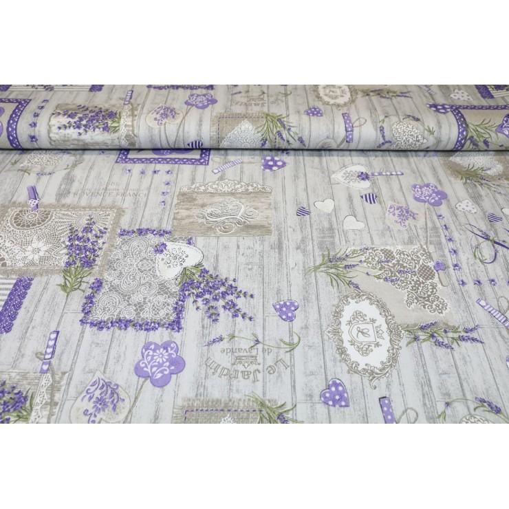 Fabric Cotton lavender