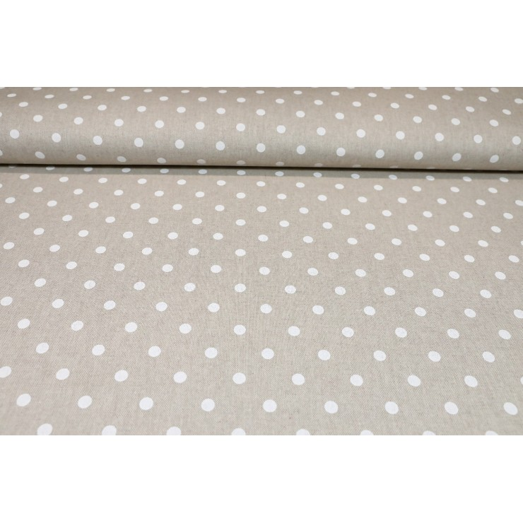 Fabric white dots