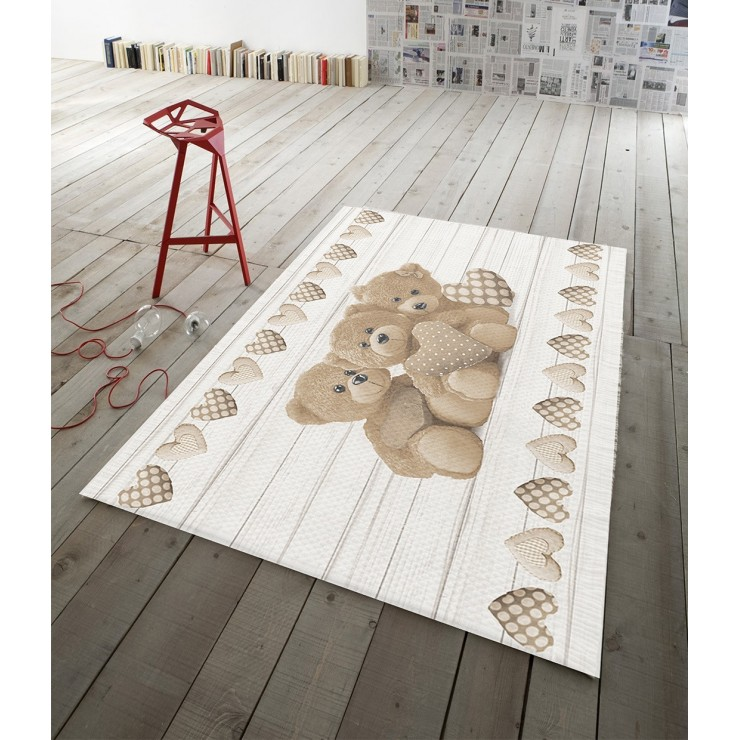 Digital Carpet Teddy bear beige