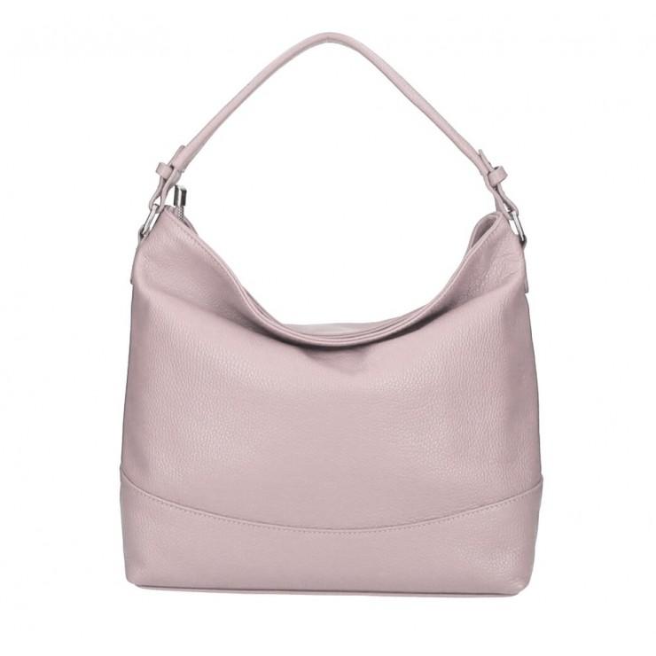 Genuine Leather Handbag MI96 powder pink Made in Italy