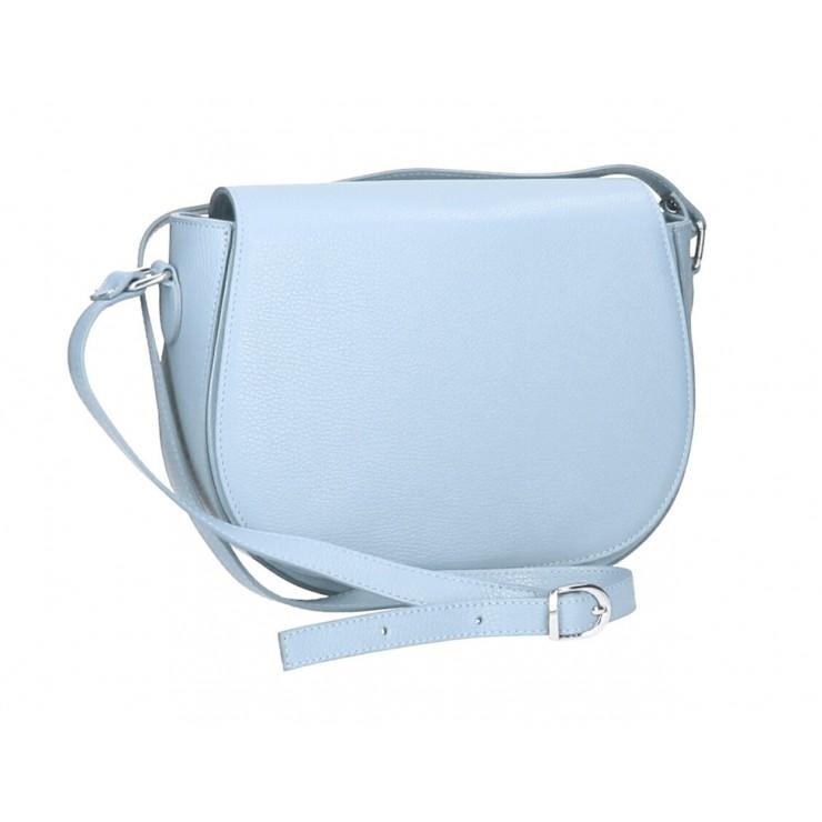 Genuine shoulder bag MI102 light blue