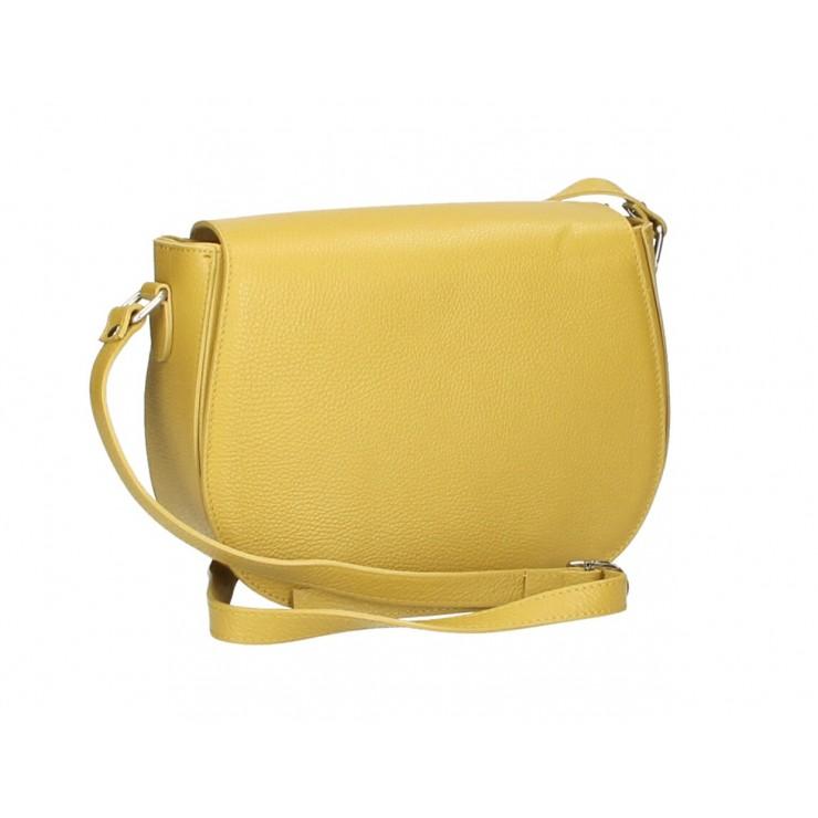 Genuine shoulder bag MI102 mustard