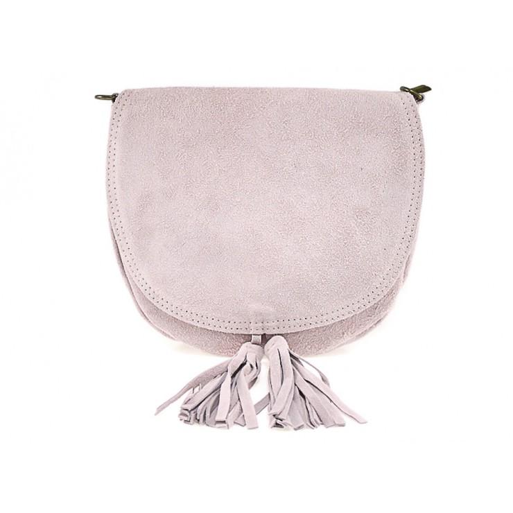 Genuine Leather Handbag 703 pink