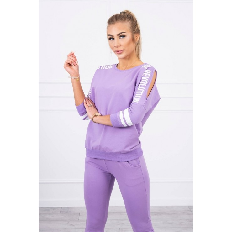 Women's set MI8849 Girl Revolution dark purple