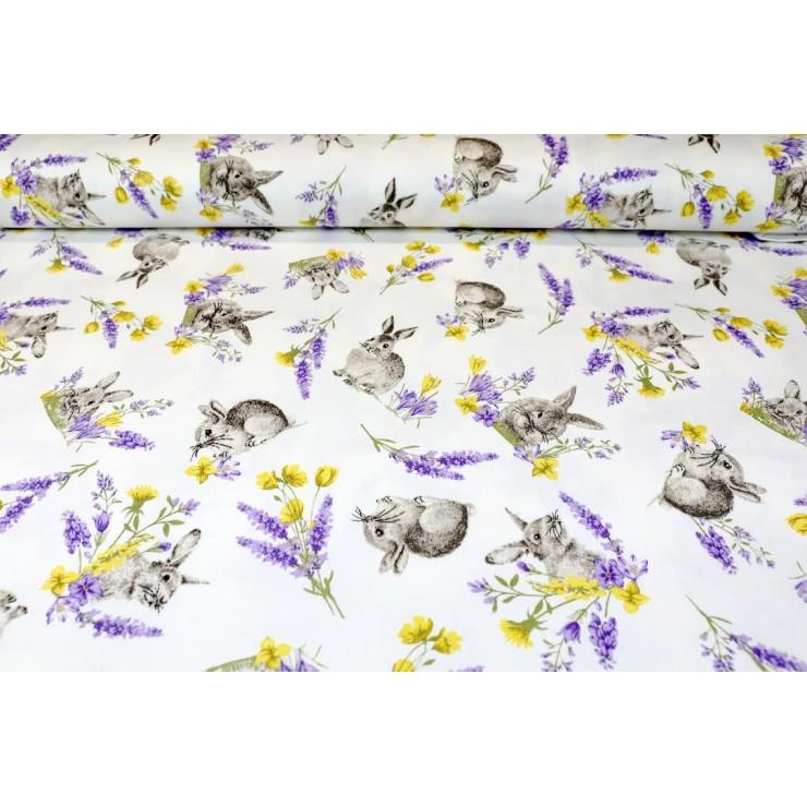 Fabric Cotton Bunny, h. 140 cm