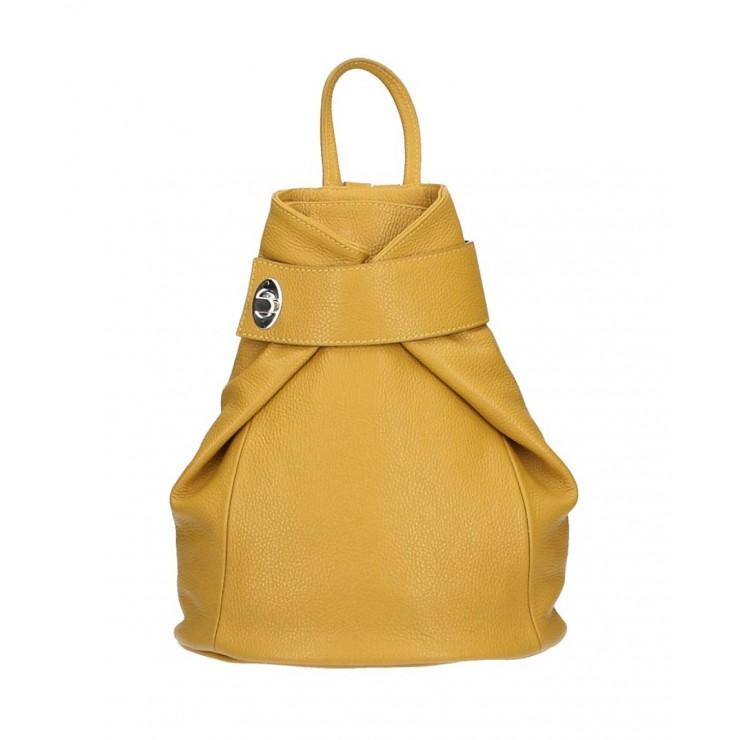 Kožený batoh 443 okrový
