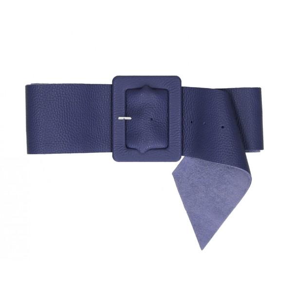 Dámsky kožený opasok 339 Made in Italy jeans Jeans