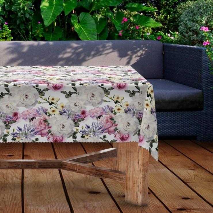Waterproof garden tablecloth MIGD434-118 flowers