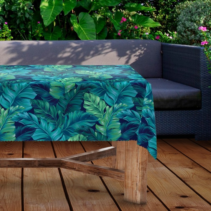 Waterproof garden tablecloth MIGD434-219 leaves