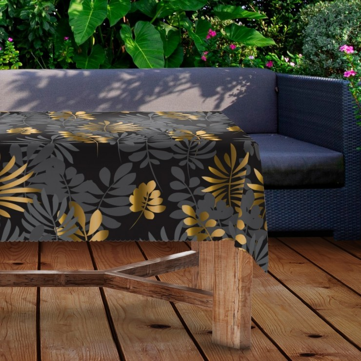 Waterproof garden tablecloth MIGD434-276 leaves