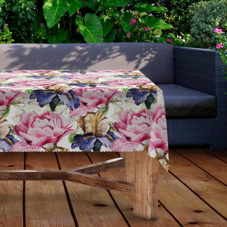 Waterproof garden tablecloth MIGD434-280 flowers