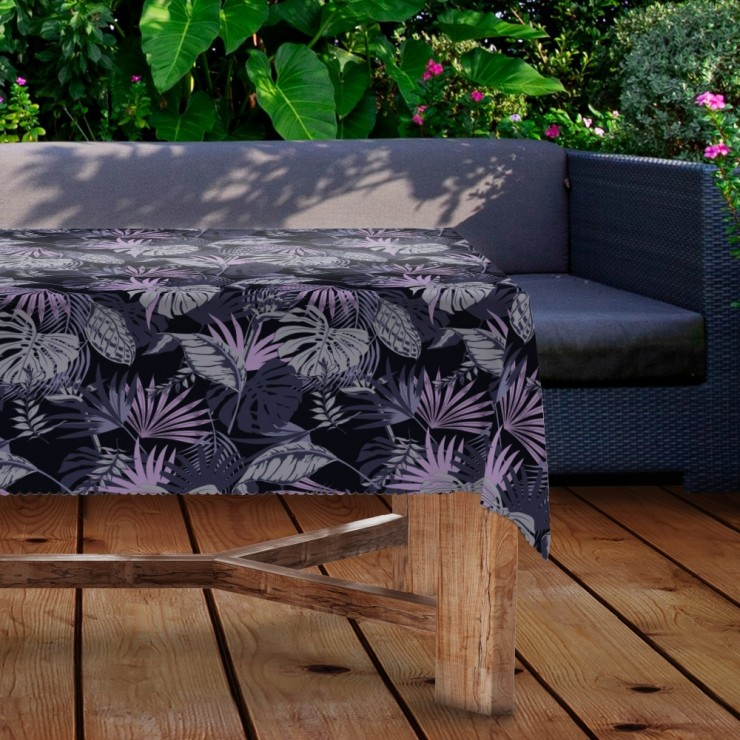 Waterproof garden tablecloth MIGD434-283 leaves