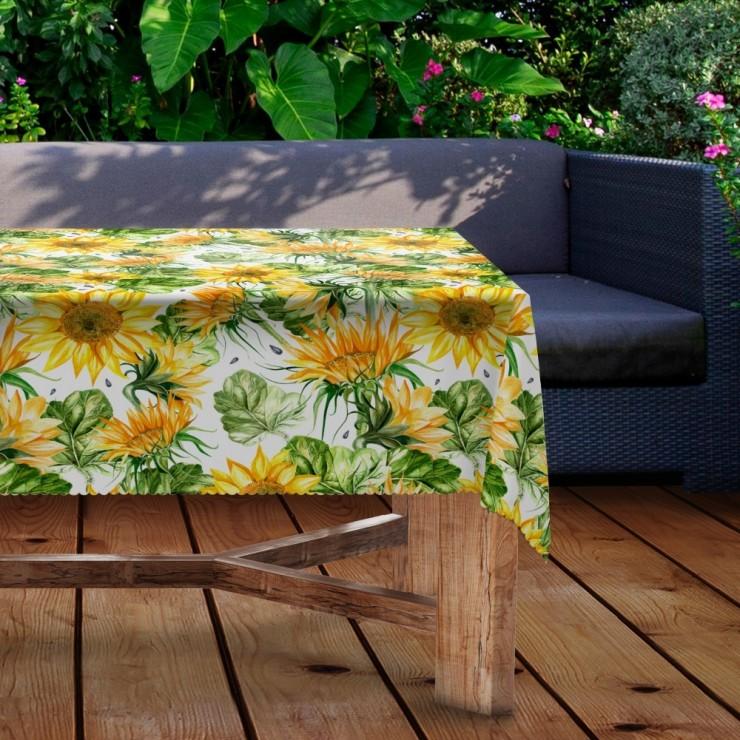 Waterproof garden tablecloth MIGD434-291 sunflower