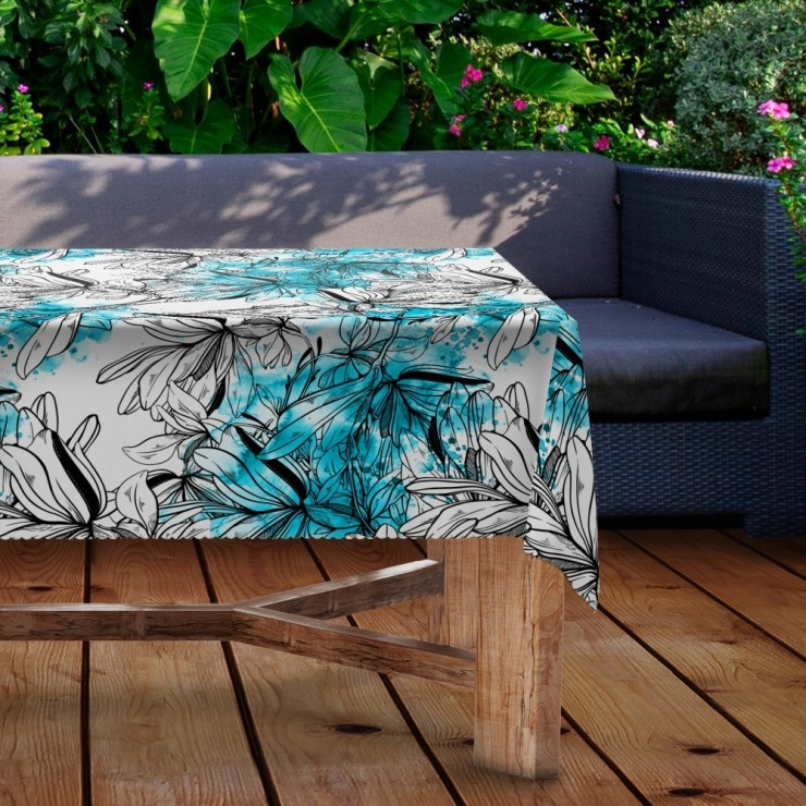 Waterproof garden tablecloth MIGD434-293