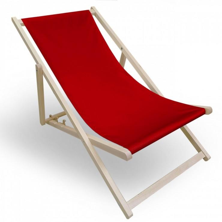 Garden chair red