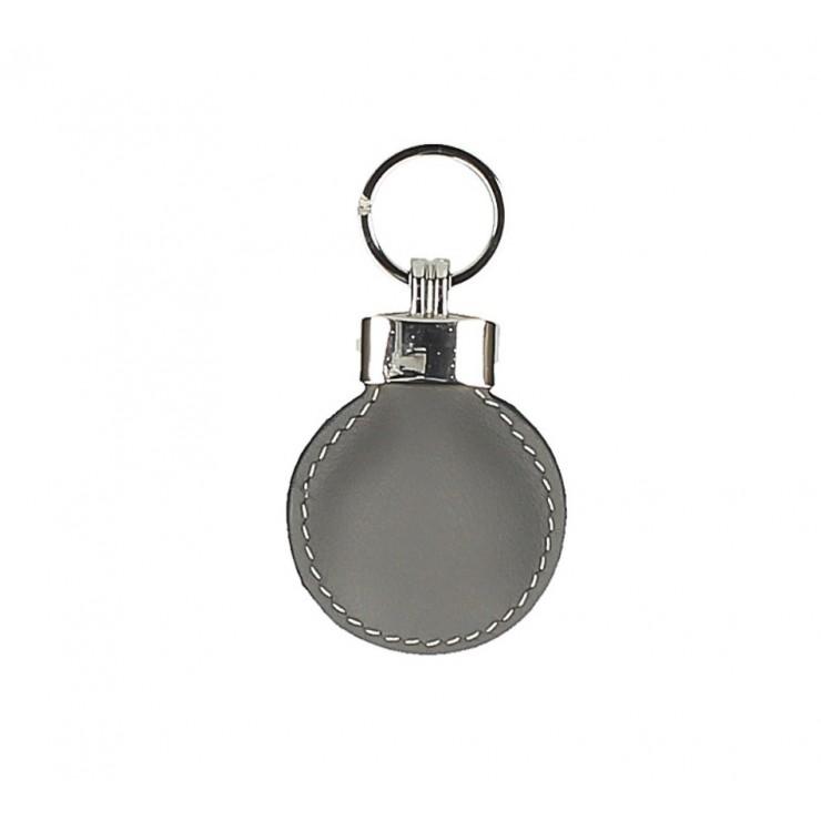 Leather key chains Katty 179K dark gray