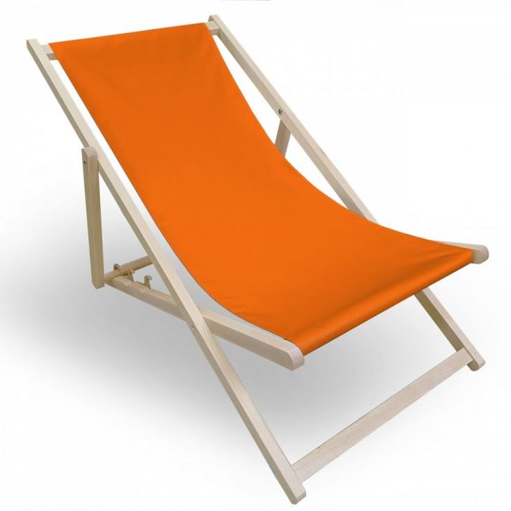 Garden chair orange