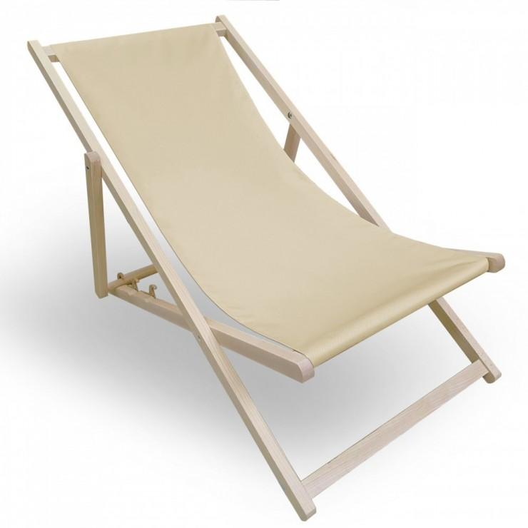 Garden chair light beige