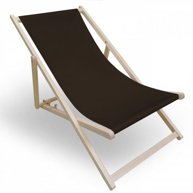 Garden chair dark brown