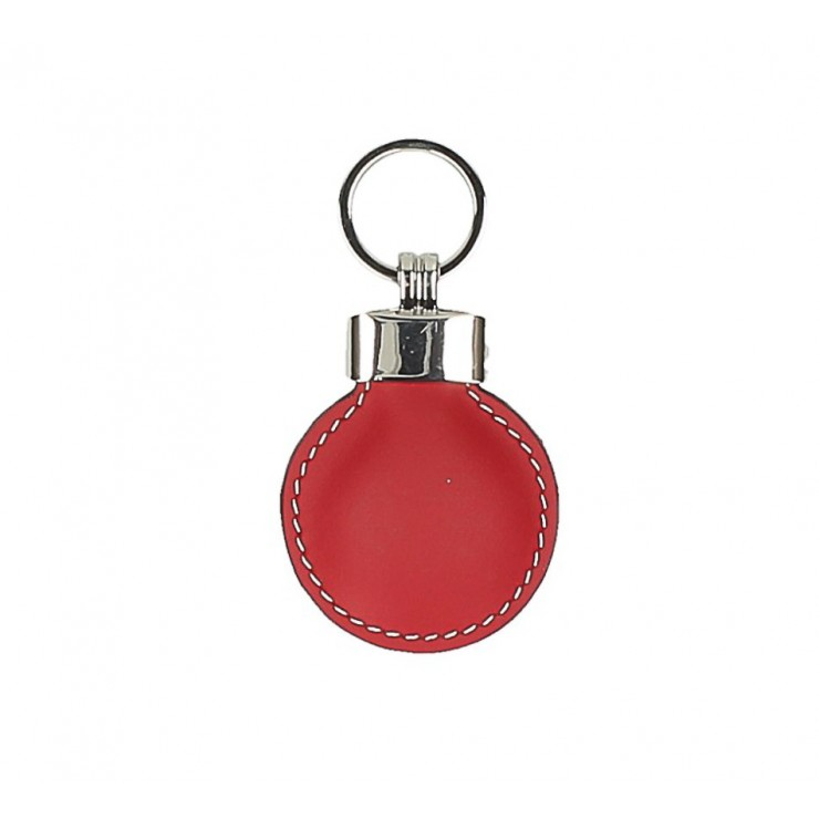Leather key chains Katty 179K red