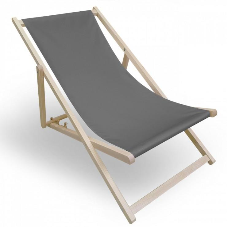 Garden chair dark gray