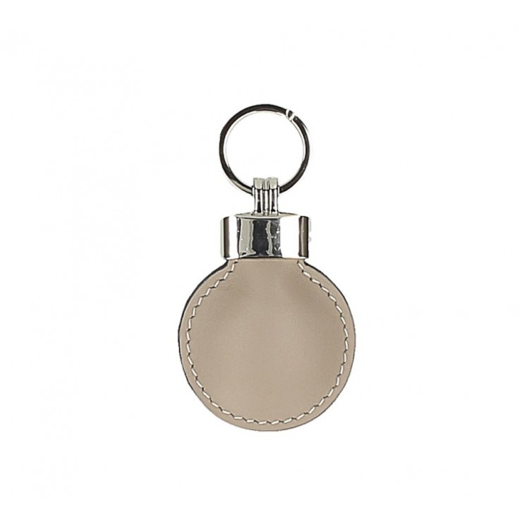 Leather key chains Katty 179K taupe