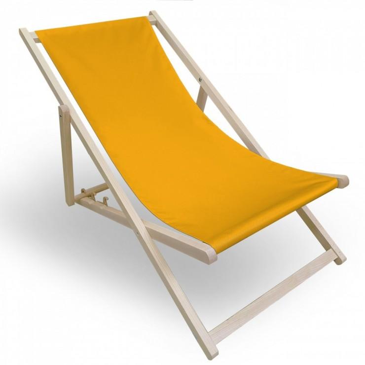 Garden chair yellow