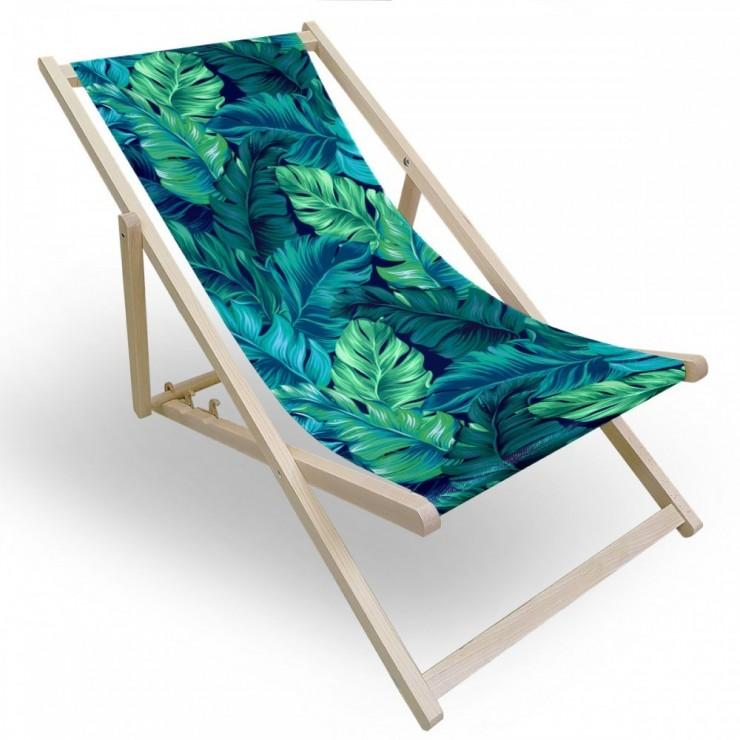 Garden chair green leaves