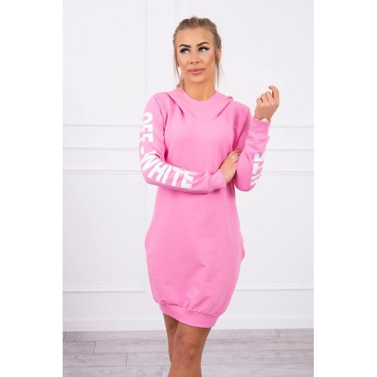 Dress Off White MI62182 light pink