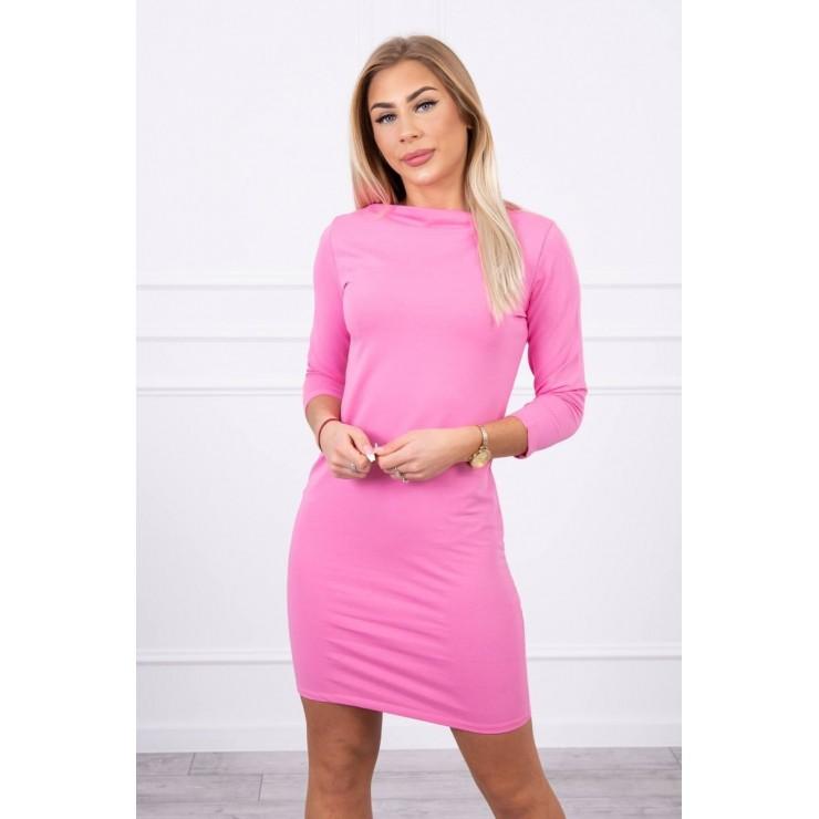 Ladies Dress Classical MI8825 light pink