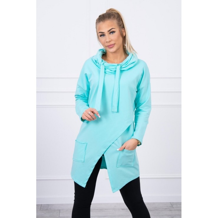 Tunic with envelope front oversize MI0017 mint