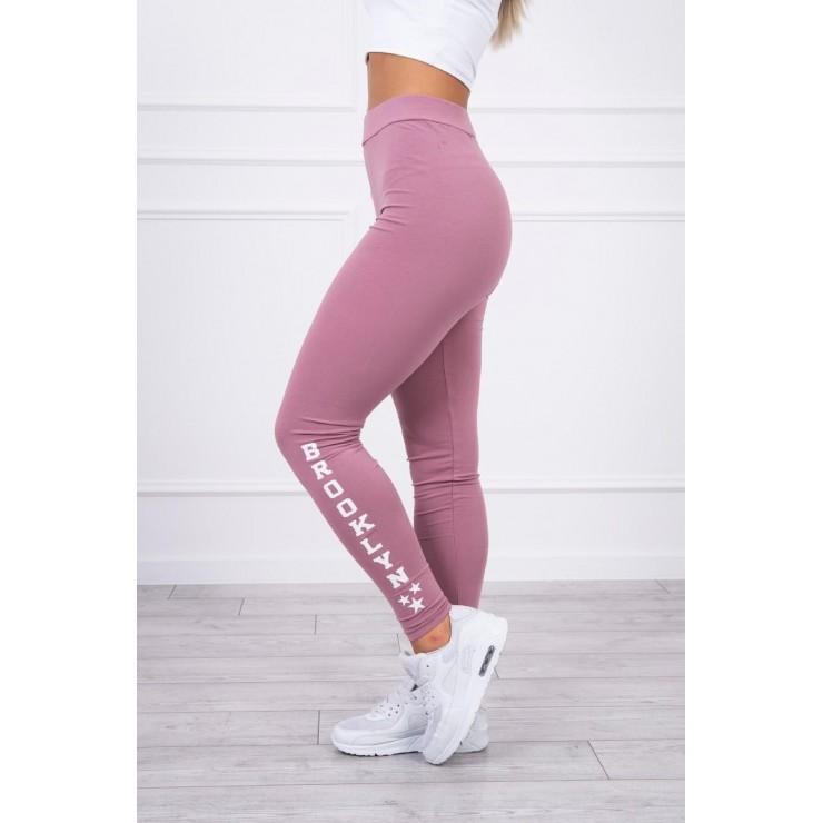 Woman leggings Brooklyn MI8882 dark pink