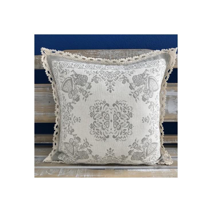 Pillowcase gobelin A005 gray