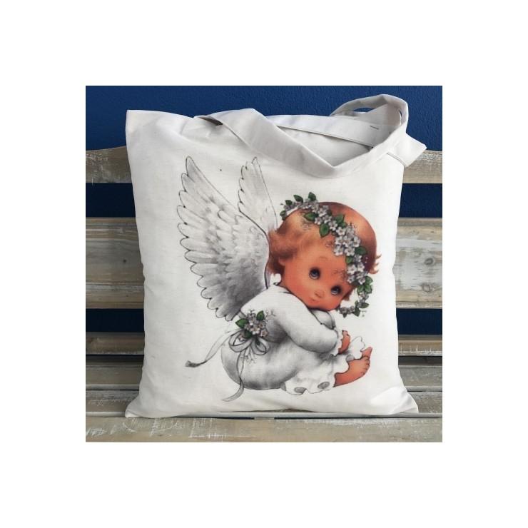 Linen handbag MIT135