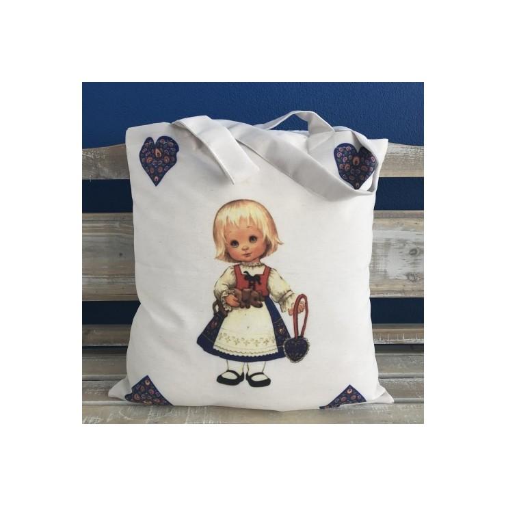 Linen handbag MIT145