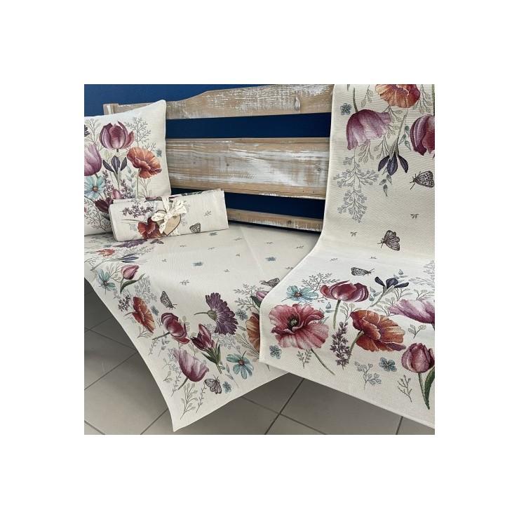 Gobelinový behúň na stôl 40x100 cm Eden 1002