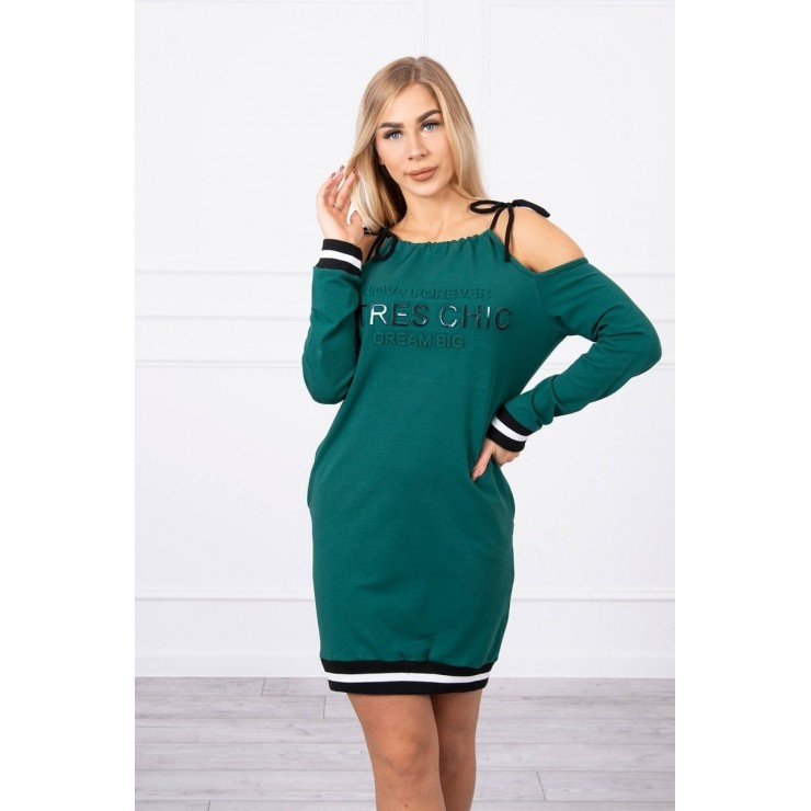 Ladies Dress Tres Chic MI62182 green