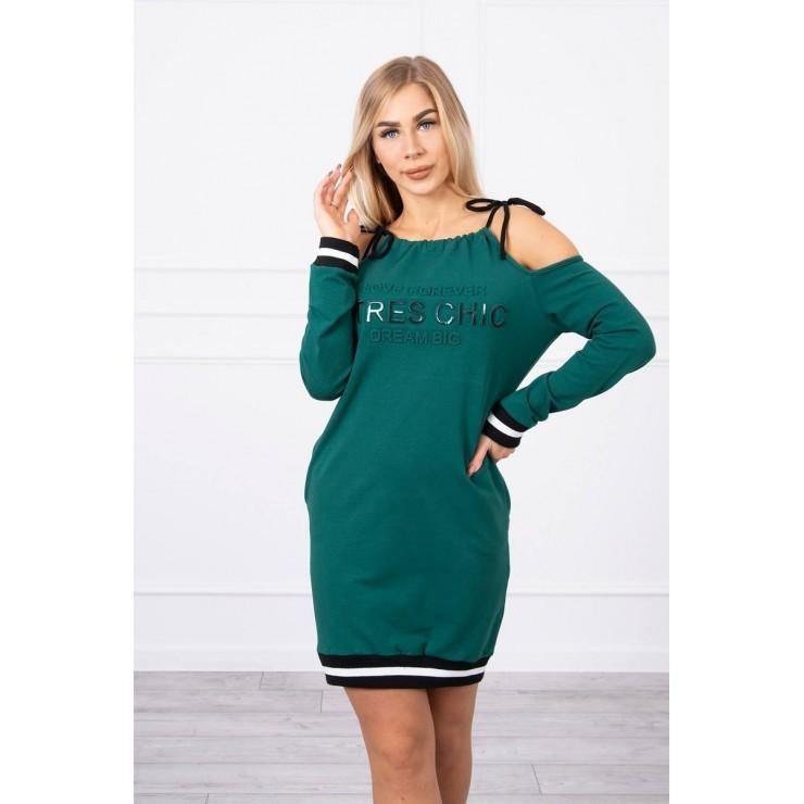 Šaty Tres Chic MI62182 zelené