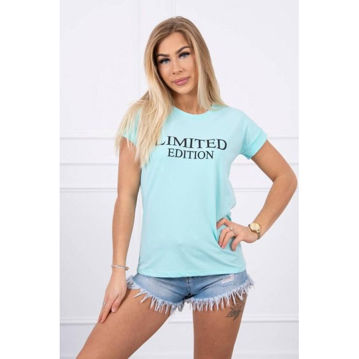 Women T-shirt LIMITED EDITION mint MI65296