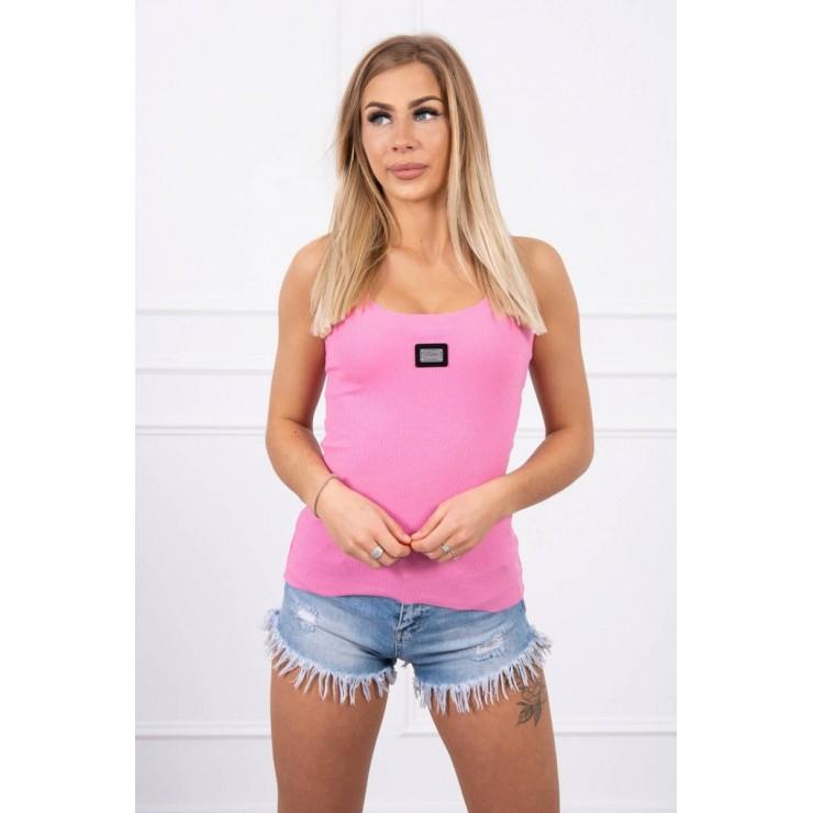 Dámske tričko s plieškom MI8986 ružové