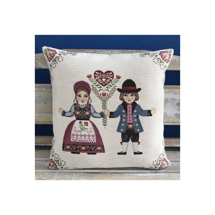 Pillowcase gobelin 42x42 cm Chenille 026
